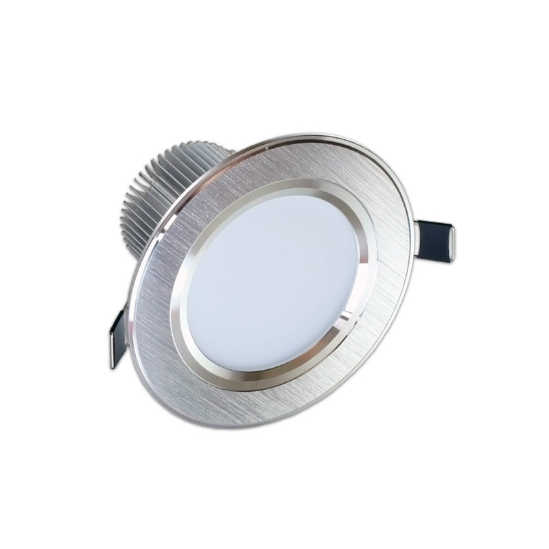 Downlight Led 7W gran angular luz blanca