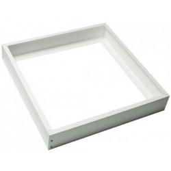 Marco aluminio blanco para panel 60x60