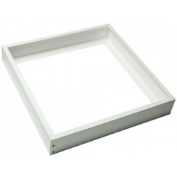 Frame - 60x60 Panel, White-Coloured, Aluminium