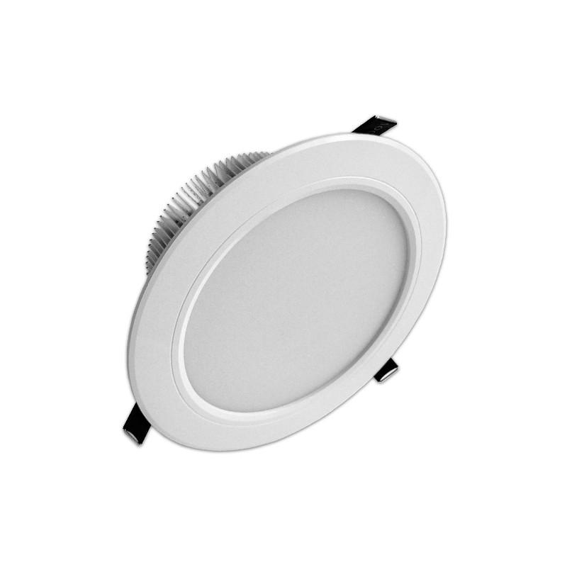 Downlight Led 7W gran angular luz blanca