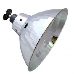 High Bay Fitting for E27 Lamps - Reflective
