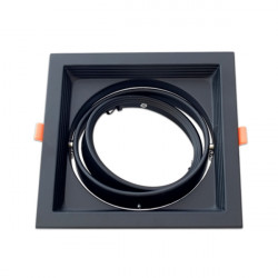 Adjustable black frame for AR111
