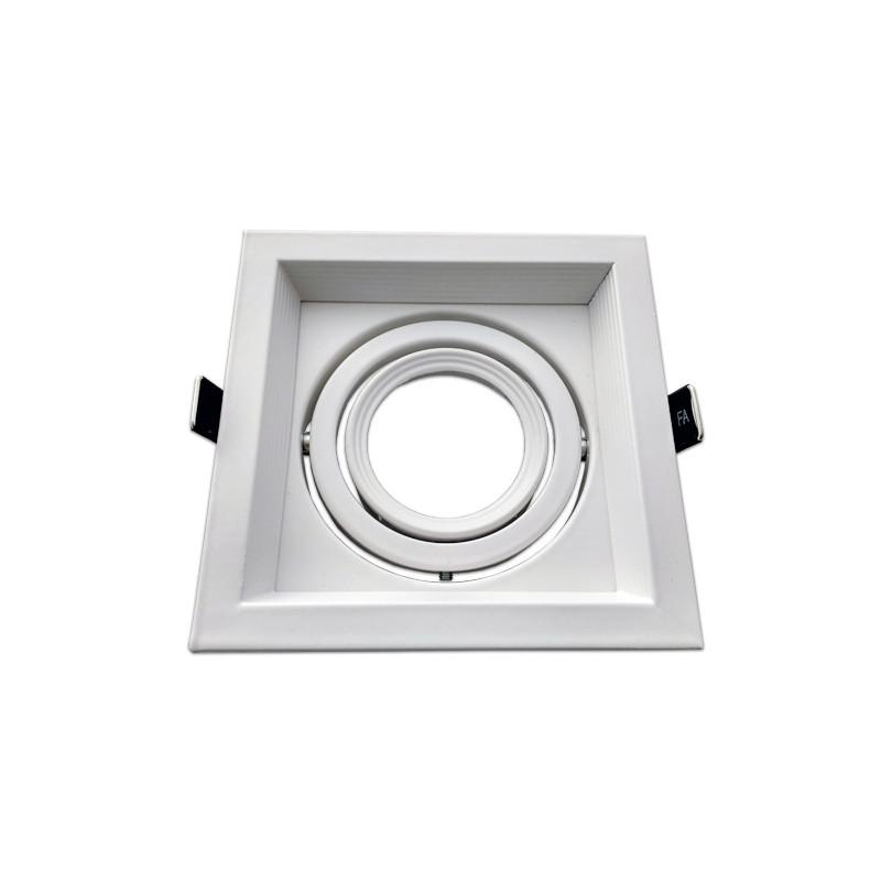 Marco orientable para AR111 color blanco