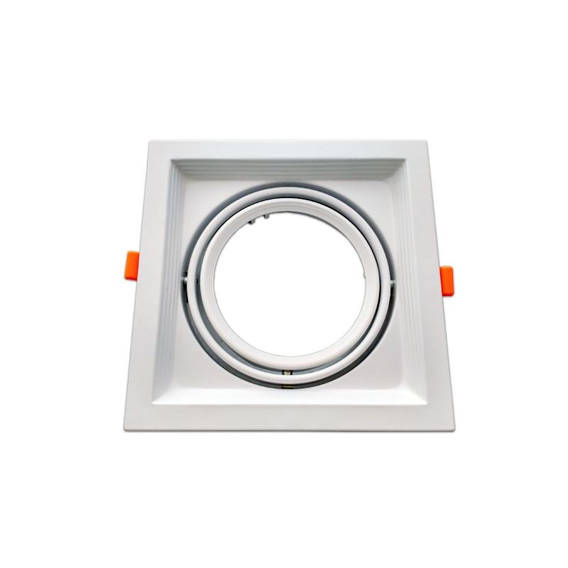 Moldura ajustável para AR111 branco