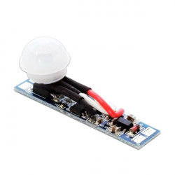 Motion sensor for LED profiles