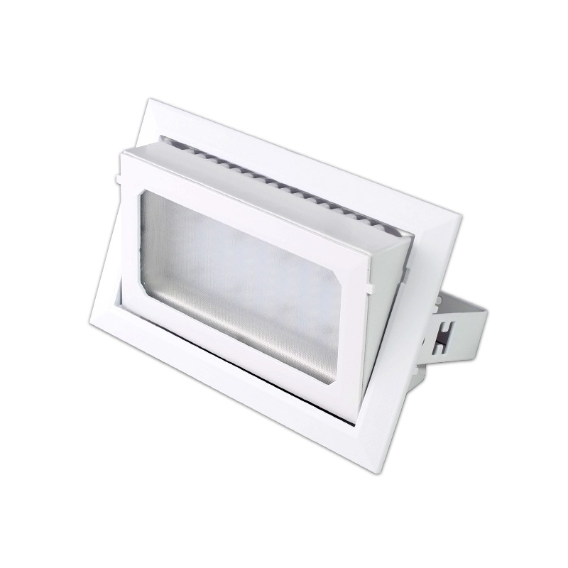 Ceiling Floodlight - 30W, Directional, Square