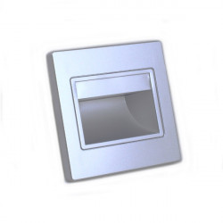 Led step light 1.5W silver
