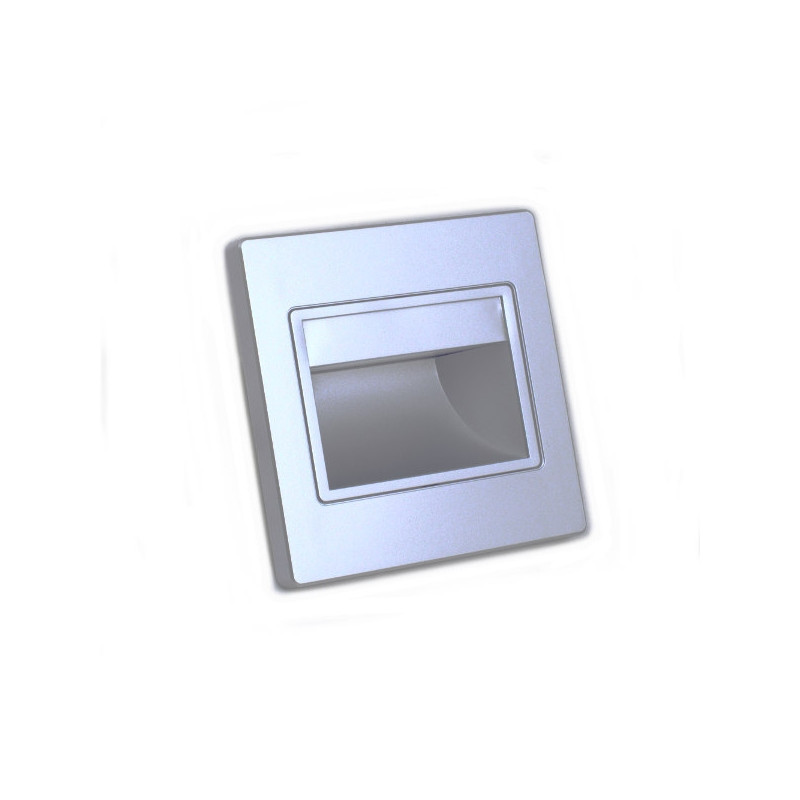 Led inwall light 1.5W silver