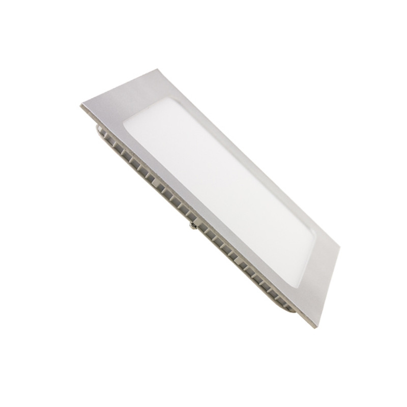 Downlight - SILVER Square 18W Panel