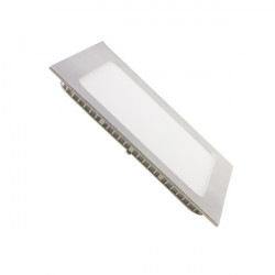 Downlight - SILVER Square 12W Panel