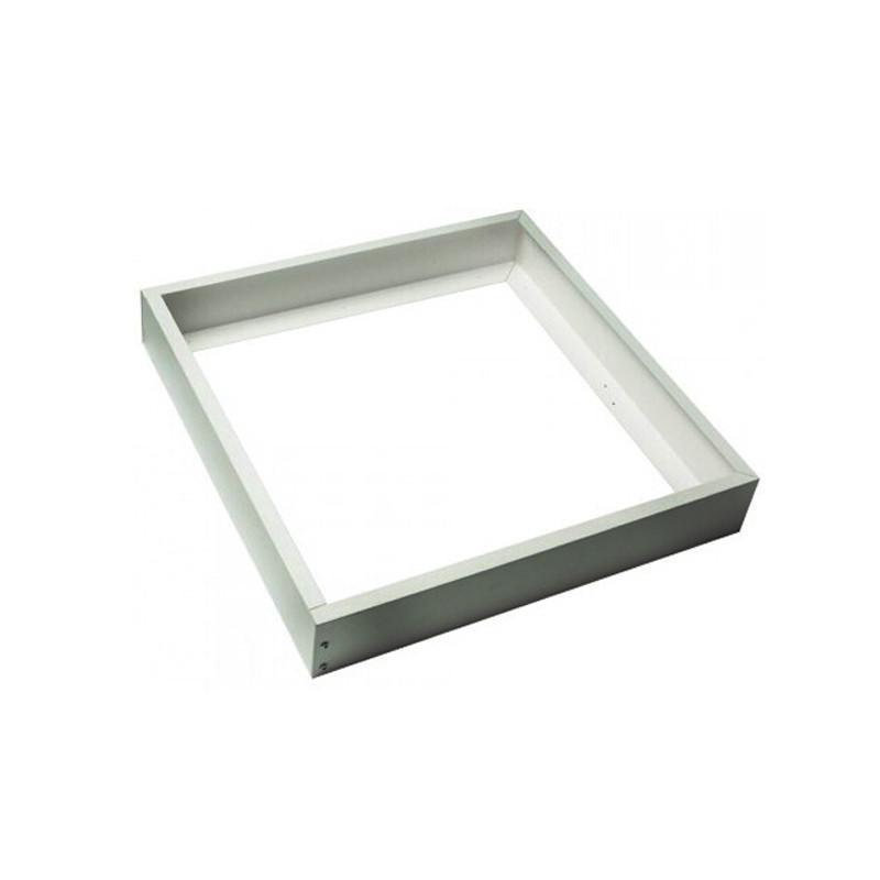 Quadro de alumínio prata para painel 60x60