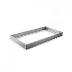 Quadro de alumínio prata para painel 30x60