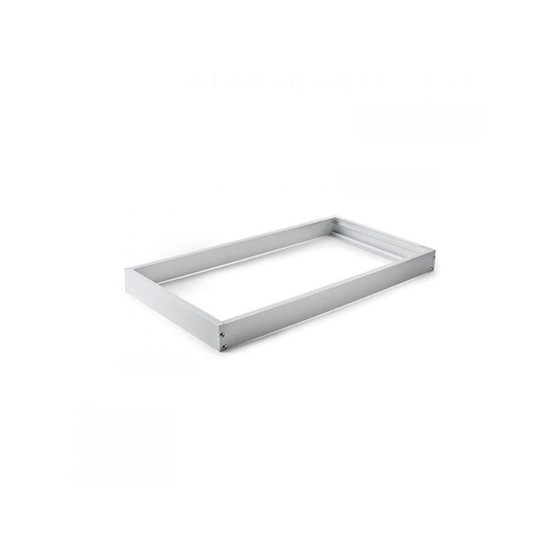 Quadro de alumínio branco para painel 30x60