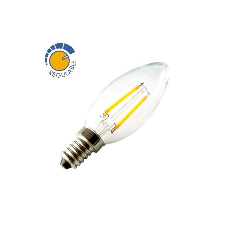 Bombilla de filamentos LED 360º 2W