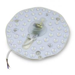 Disco LED magnético tricolor de 24W