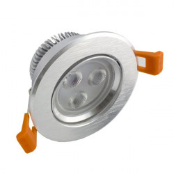 LED Downlight 3W Rodada
