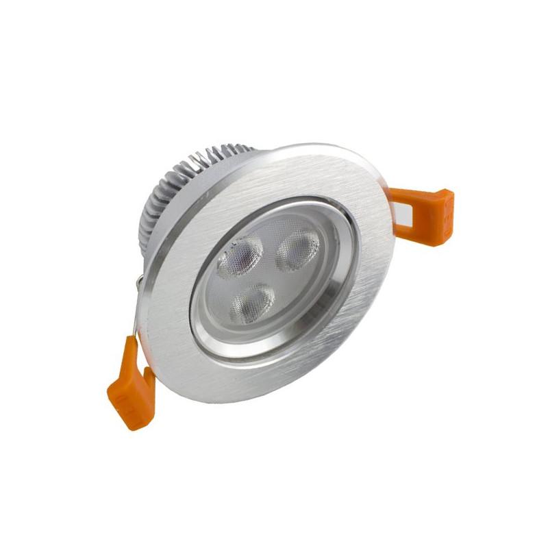 LED Downlight 3W Rodada