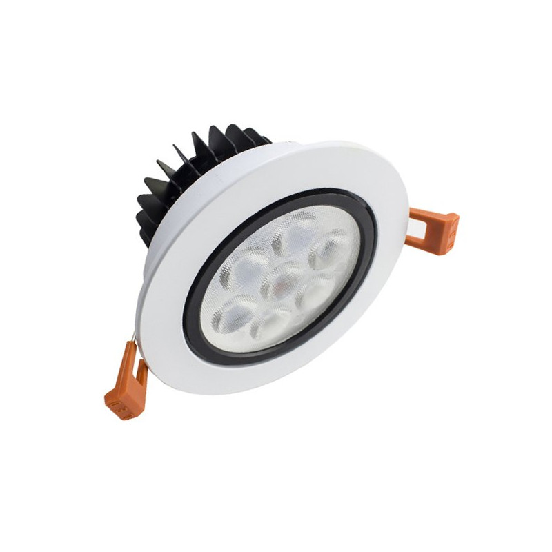 Downlight Led 7W marco blanco
