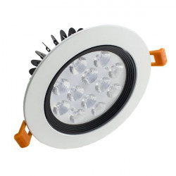 Downlight Led 12W marco blanco