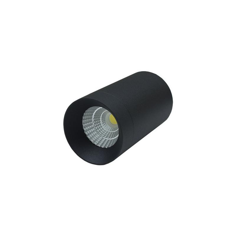 Bridgelux Lâmpada de teto preto LED 7W brano COB Bridgelux