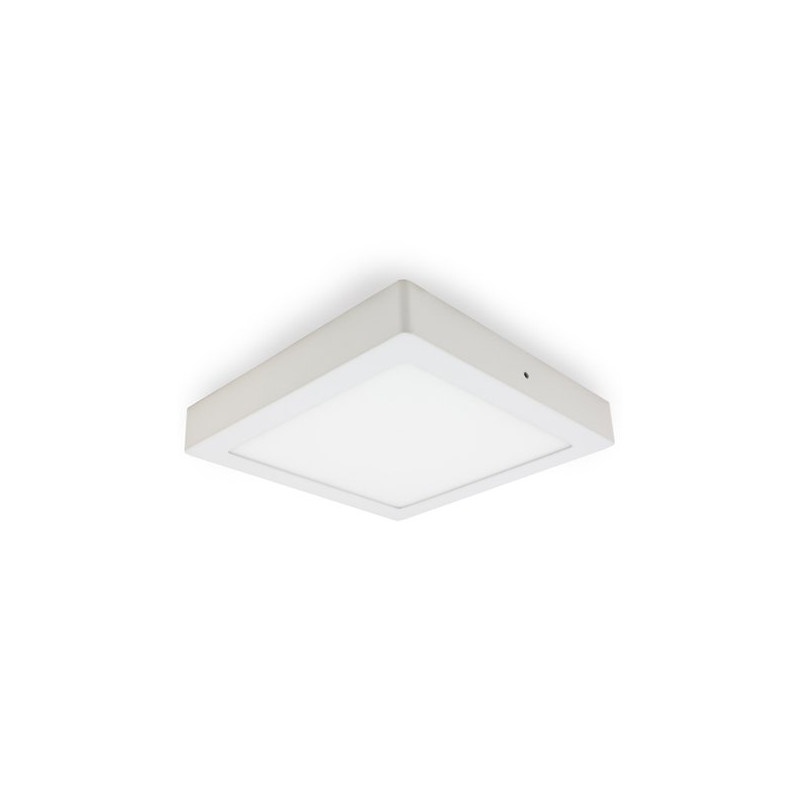 LED Ceiling Light - Square, 18W