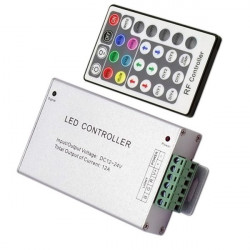 RADIOFREQUENCY Controller with 12A RGB Remote