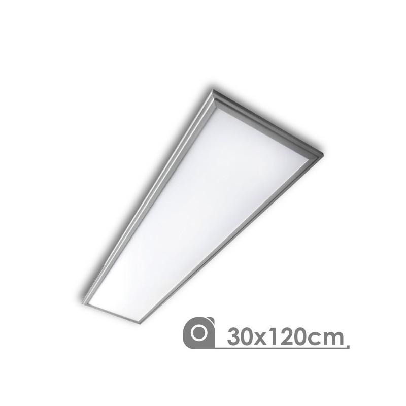 LED Panel - Extra-slim, 40W, 30 x 120 cm