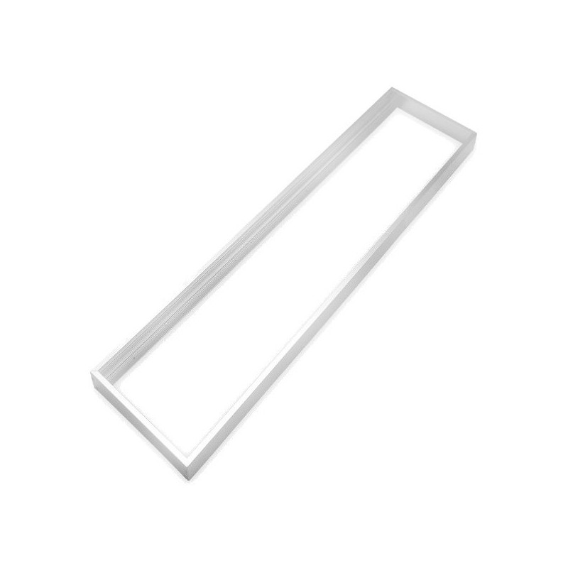 Frame for 30x120 Panel - White-Coloured, Aluminium
