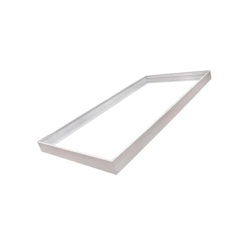 Quadro de alumínio branco para painel 60x120