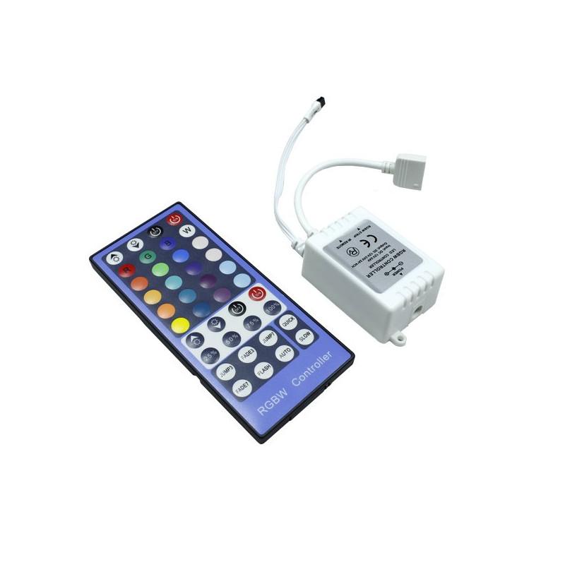 Controlador y mando a distancia led