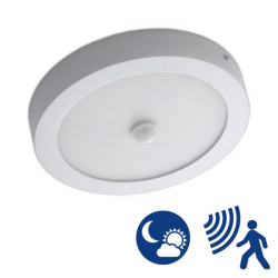 Ceiling Light - 18W, Night Function Presence Detector