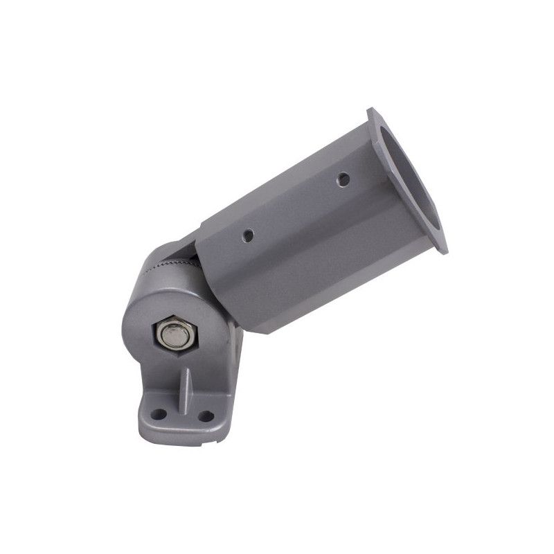 Wall-mounted street light support