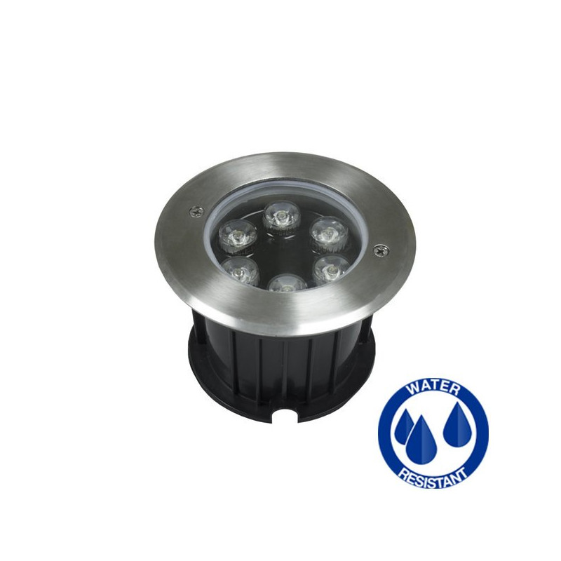 Inground LED light 6W IP68