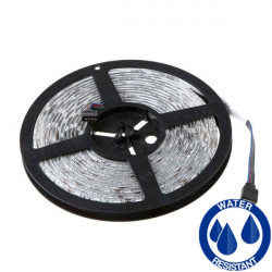 Tira Led RGB 12V 14.4W/m IP65 Impermeable