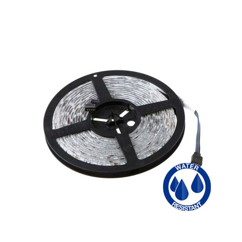 Tira Luz LED RGB 14.4W impermeable