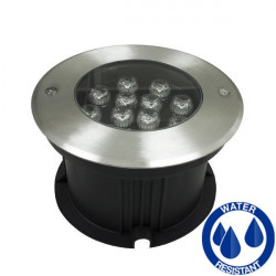 Recessed wallwasher 12W IP68