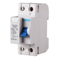 Interruptor diferencial 2P 30mA 6kA