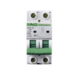 Interruptor automático 2P 6kA