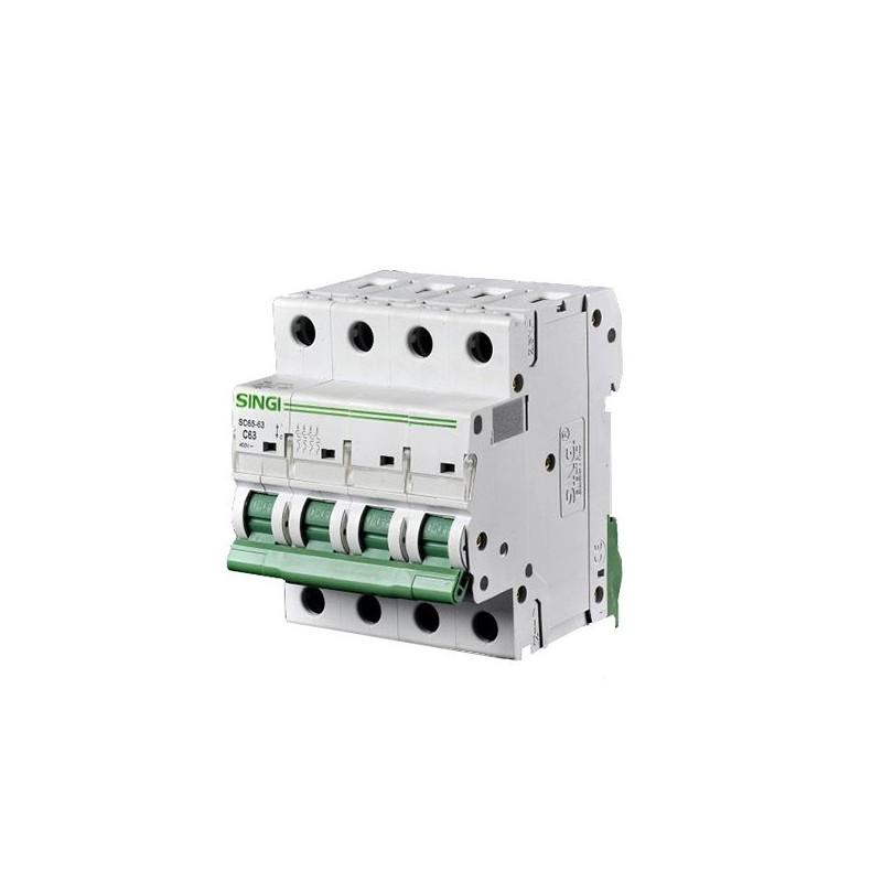 Interruptor automático 4P 6kA