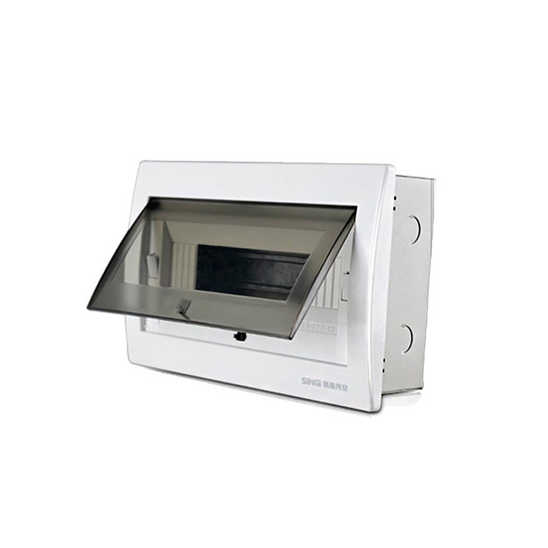 Flush mounted distribution box