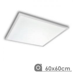 Painel de teto de LED 60 x 60 cm 36W moldura branca