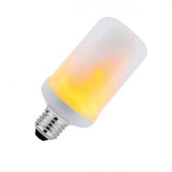 Bombilla LED efecto llama E27