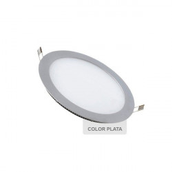 Downlight Led 6W Rodada prata