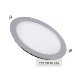 Downlight - SILVER Round 18W Panel