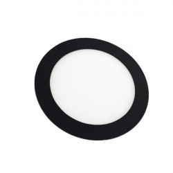 Downlight Led 18W Rodada preto