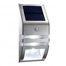 LED wall light motion sensor silver color