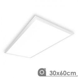 Painel de Led 30 x 60 cm Slimline 25W BRANCO