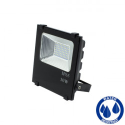 LED Floodlight - SMD, Slim, 30W