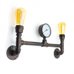 Industrial pipe wall lamp FACTORY17