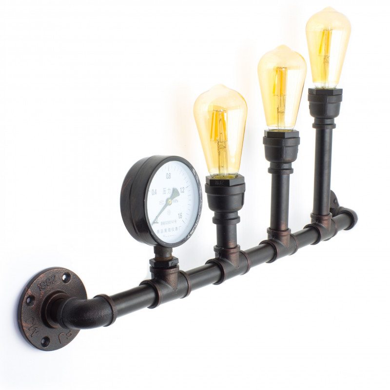 Industrial pipe wall lamp FACTORY5